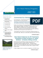 wvhf newsletter vol 1 -issue 1