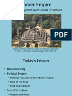 khmer empire - week 2 political and social structure