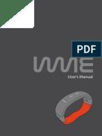 WMe Wristband User Guide