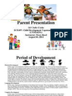 parent presentation week3 assignment ece497