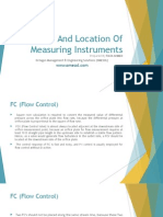 Instrument Location Selection Standards