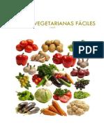 Recetas Vegetarianas Fáciles Con Thermomix. Parte 1
