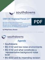 Southdowns Presentation