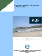 Costal Zone Management Plan Trivandrum (New 2014)