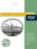 Paint Guide - Surface Preparation - Abolin