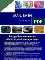 1 & 2 .Ilmu Manajemen