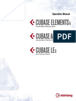 CubaseE6 Operation Manual