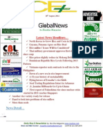 18th August,2014 Daily Global Rice E-Newsletter by Riceplus Magazine