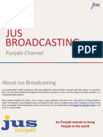Jus Broadcasting_Punjabi Channel