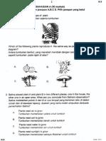 Percubaan UPSR 2014 - Perlis - Sains - Bahagian a Dan B
