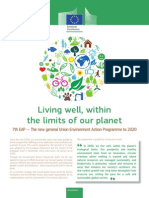Living well, within the limits of our planet