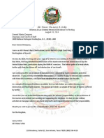 140818 Alii Manao Nui Letter to General Dempsey