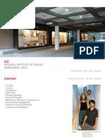 Analysis, Redesign - NID Ahmedabad