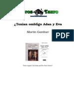 Gardner, Martin - Tenian Ombligo Adan Y Eva