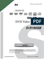 Toshiba D-r160-Sb Dvd Video Recorder