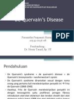 SLIDE PP de Quervain's Disease