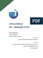 MIT001 - Metodologia de Implantação TOTVS MIGRAÇÃO