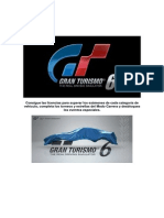 Guia Gran Turismo 6 by ISK79