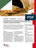 P&a High Speed Labeling - Bakkersland Case Study