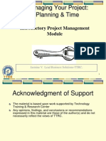 Intro to Project Managment