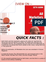 Book Review of All Marketers are Liars