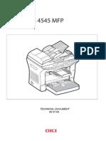 OKI B4545 Service Manual