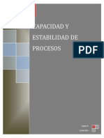 Capacidad y Estabilidad de Procesos