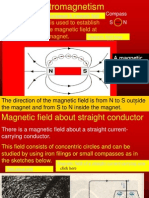 20 magnetic field about current carrying conductors