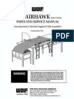 Airhawk Parts & Service Manual