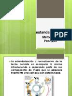 Estandarización Pearson Agroindustria