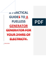 SDA-edit Fuelless Electricity Gen