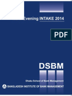 DSBM_Evening MBM Prospectus