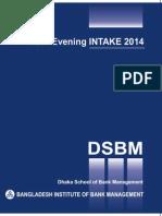 DSBM_Evening MBM Prospectus