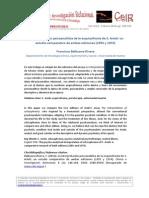 14_Balbuena_La Interpretación Psicoanalítica de La Esquizofrenia-Arieti_CeIR_V8N1