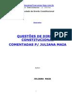 Direito Constitucional - Concurso Público - Audiojus Comentado Julianamaia