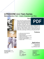 Litrax One Natural Bio Bamboo