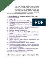 Gun Ban PNP Circular Number 2000