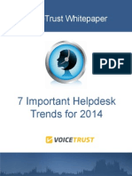 7 Important Helpdesk Trends for 2014