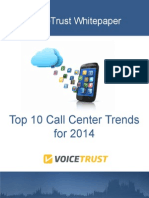Top 10 Call Center Trends for 2014