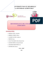 Histologia Del Páncreas Endocrino