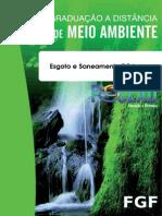 Apostila FGF_Esgoto e Saneamento Básico