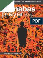 Prayer Diary September -October 2014