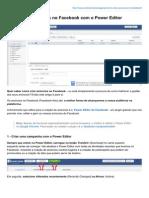 Como Criar Anúncios No Facebook Com o Power Editor