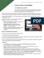 Como Usar o LinkedIn Para Vender 6 Estratégias