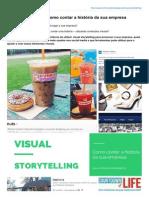 Visual Storytelling Como Contar a História Da Sua Empresa