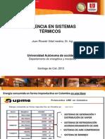Uso Eficiente de Sistemas Térmicos Dr. Juan Ricardo Vidal