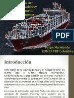 Puertos Marítimos en Colombia y Operación de Comercio
