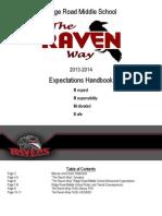 raven way expectation handbook