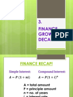 g12m finance growth  decay