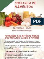 Conservação de Alimentos - Parte i